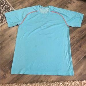 Lululemon Teal Tshirt